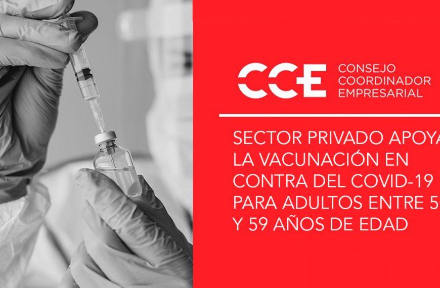 Sector privado apoya la Vacunación en contra del Covid-19 para adultos entre 50 y 59 años de edad, en el Estadio Nemesio Diez, Toluca