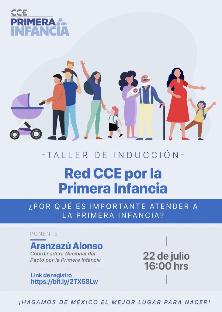 22 de julio | Taller de inducción a la red de empresas CCE por la Primera Infancia